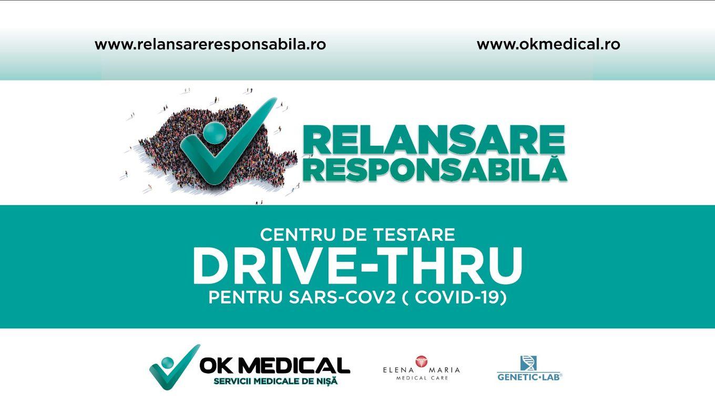#VeștiBune: Primul centru drive-in de testare COVID-19 RT-PCR din România se deschide în București