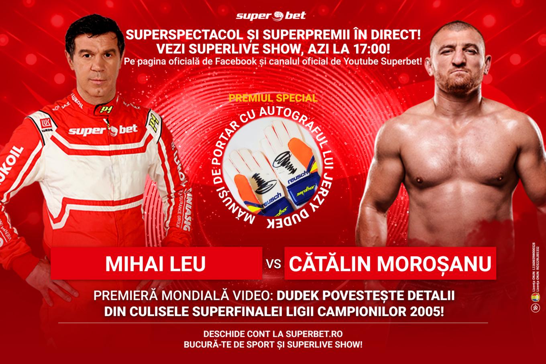 Azi la 17:00 în direct, online, SuperLive Show! Premiu de colecție: mănușile semnate de eroul de la Istanbul, Jerzy Dudek!