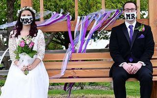 Nunți în pandemie: Unii se descurcă în orice situație