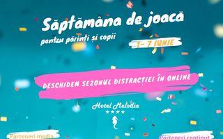 #VeștiBune: Săptămâna de joacă pentru părinți și copii – festival online pentru familie între 1 – 7 iunie