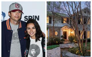 """Ashton Kutcher și Mila Kunis lansează acțiunea """"Prima Casă"""": Prețul pe care îl cer pentru o vilă din Beverly Hills"""