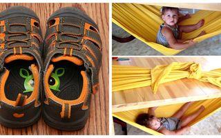 20 de trucuri ingenioase pentru părinți. Copiii vor învăța și se vor distra în același timp!