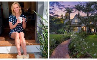 Casa pe care Reese Witherspoon a dat 12 milioane de dolari: 6 dormitoare, 8 băi și o grădină superbă
