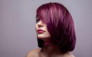 Secretele vopsirii părului cu violet de gențiană