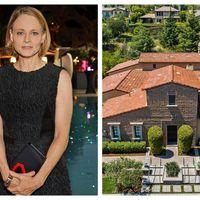 Jodie Foster se desparte de casa mamei sale: O vila modesta cu 4 dormitoare si 5 bai