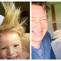 Jamie Oliver, socat de parul fiului sau: Imaginea cu care celebrul bucatar si-a surprins fanii