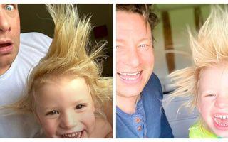 Jamie Oliver, șocat de părul fiului său: Imaginea cu care celebrul bucătar și-a surprins fanii
