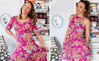Viață nouă pentru hainele vechi: O tânără transformă haine second hand în piese vestimentare impecabile