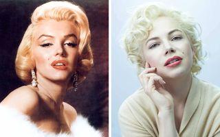 12 actori care au jucat rolul unor vedete din trecut: De la Marilyn Monroe, la Charlie Chaplin