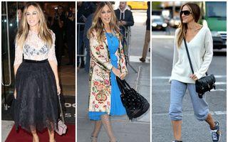 30 de ținute purtate de Sarah Jessica Parker care ne amintesc de Carrie Bradshaw