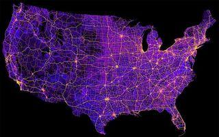 America privită altfel: 12 hărți din Statele Unite care te vor surprinde
