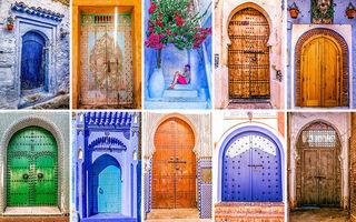 Călătorie virtuală: Ușile din Maroc, un mozaic cuceritor de forme și culori