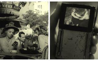 Predicțiile uimitoare ale unui film din 1947: Oamenii stau cu ochii în ecranele mobile, iar mașinile au ecran în bord - VIDEO