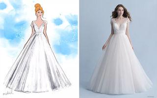 Disney a lansat o colecție de rochii de mireasă inspirate de prințesele din animațiile sale