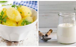 Dieta cu iaurt și cartofi. Slăbești 5 kilograme în 3 zile