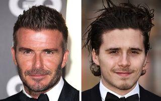 Frumusețea se transmite din tată-n fiu! Băieții acestor bărbați celebri o dovedesc!