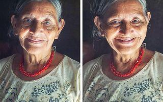 """Cât contează un compliment: Reacția unor femei simple când un fotograf le spune """"Ești frumoasă"""""""