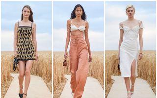 Show de modă în lanul de grâu: Jacquemus și-a prezentat noua colecție respectând distanțarea socială