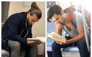 Bărbați care arată bine și citesc cărți, noul fenomen de pe Instagram