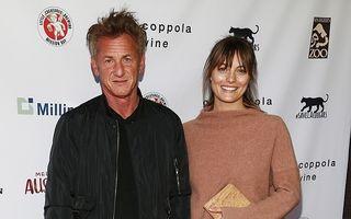Sean Penn s-a însurat a treia oară: 15 imagini cu soția lui, mai tânără cu 31 de ani decât el