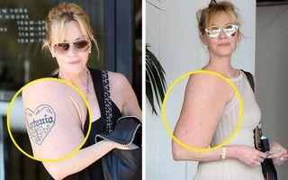 7 vedete care și-au șters tatuajele pentru că se făceau de râs