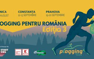 Plogging pentru România Ediția 3: Sportivi amatori voluntari curăță de gunoaie zone verzi din Ilfov, Constanța și Prahova