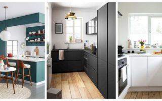 Idei de amenajare pentru bucătării mici. 40 de imagini din care să te inspiri