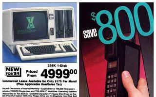 20 de lucruri care costau o avere în anii trecuți: Cu cât se vindeau computerele și telefoanele