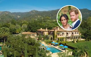 Prințul Harry și Meghan Markle s-au mutat într-un palat: 25 de imagini din noua lor casă