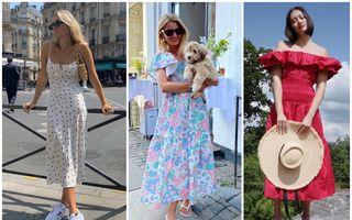 Ce ținute de vară poartă fashionistele. 50 de idei