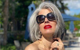 Cum să faci tranziția de la părul vopsit la părul alb