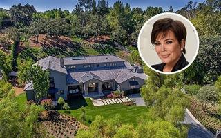 """Kris Jenner vrea banii pe masă: Șefa """"clanului Kardashian"""" a vândut casa din California cu 15 milioane de dolari cash"""