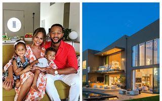 Chrissy Teigen și John Legend vând casa din Beverly Hills: Cât costă vila cu 7 băi și 7 dormitoare