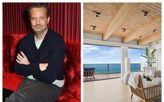 Matthew Perry vinde o supercasă în Malibu: Lux și ocean, la 15 milioane de dolari