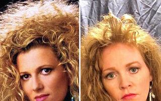 21 de imagini din anii '80 refăcute de o familie în 2020: Atitudinea retro cucerește internetul