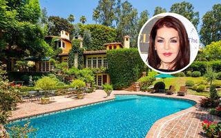 Priscilla Presley vinde o vilă cu 7 dormitoare în Beverly Hills: Ultima oară a fost de vânzare când Elvis trăia