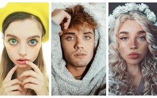 14 oameni care au un chip special: Nimeni nu seamănă cu ei!