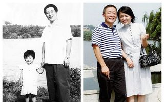 Un tată și fiica lui au făcut o poză în același loc, timp de 40 de ani: Schimbările prin care au trecut