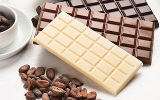 Ciocolată albă vs ciocolată neagră. Care este mai sănătoasă?