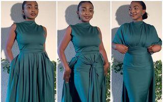 Rochiile unei creatoare de modă din Nigeria au devenit virale. Pot fi purtate în cel puțin 3 moduri