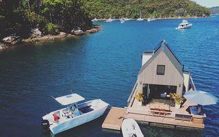 Vila plutitoare, refugiul perfect pentru cei care nu-și doresc vecini