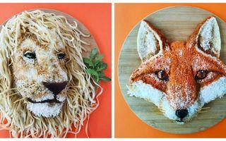 Opere de artă în farfurie. 30 de idei geniale ale unei mame pentru mesele copiilor ei