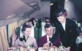 Cum era zborul cu avionul altădată: 14 imagini la înălțime