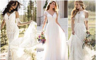 Rochii de mireasă pentru nunta în aer liber. 35 de modele