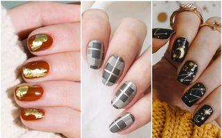 Manichiuri nail art pentru toamnă. 50 de modele din care să te inspiri