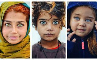 Cei mai frumoși ochi din lume: 22 de copii cu o privire ieșită din comun