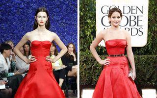 20 de ținute de la prezentările de modă care arată complet diferit pe vedete