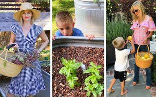 12 vedete care își cultivă singure legumele și fructele