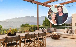 """Chris Hemsworth și Elsa Pataky vând vila din Malibu la un preț """"modest"""" pentru o casă de vedete"""