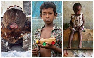 Cum arată copilăria în diferite colțuri ale lumii. 17 imagini care te vor sensibiliza